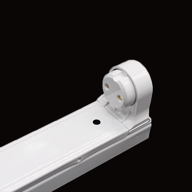 t5/t8 1200mm fluorescent led fixture spring bracket