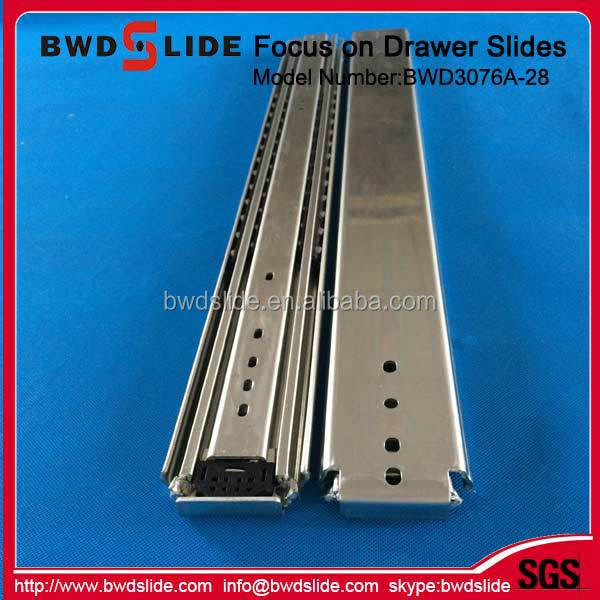 BWD3076A-28 Vehicle locking heavy duty steel cabinet drawer slider
