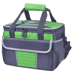 Large soft multiple pockets cooler bag,insulated lunch box bag,picnic cooler tote with dispensing lid