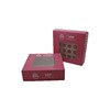 Pink Bakery Cupcake Boxes-Set of 6 Box and Inserts
