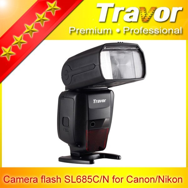 Travor sl685c flash speedlight for Canon digital camera competitive dbk film photography equipment
