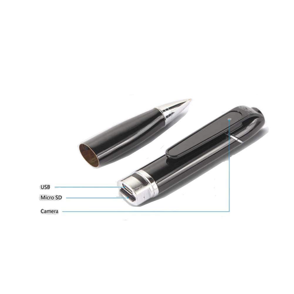 HD Wearable Wifi Hidden Spy pen camera với APP cho iPhone/Android