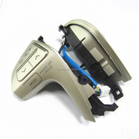 Auto parts Car steering wheel Champagne color with bluetooth hands-free telephone for 2008-2011 toyota Camry