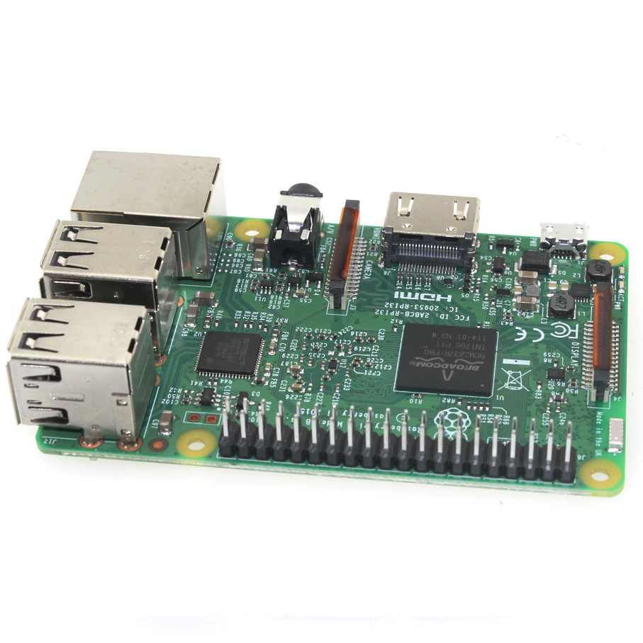Raspberry Pi Model 3 B Wifi and Bluetooth on board