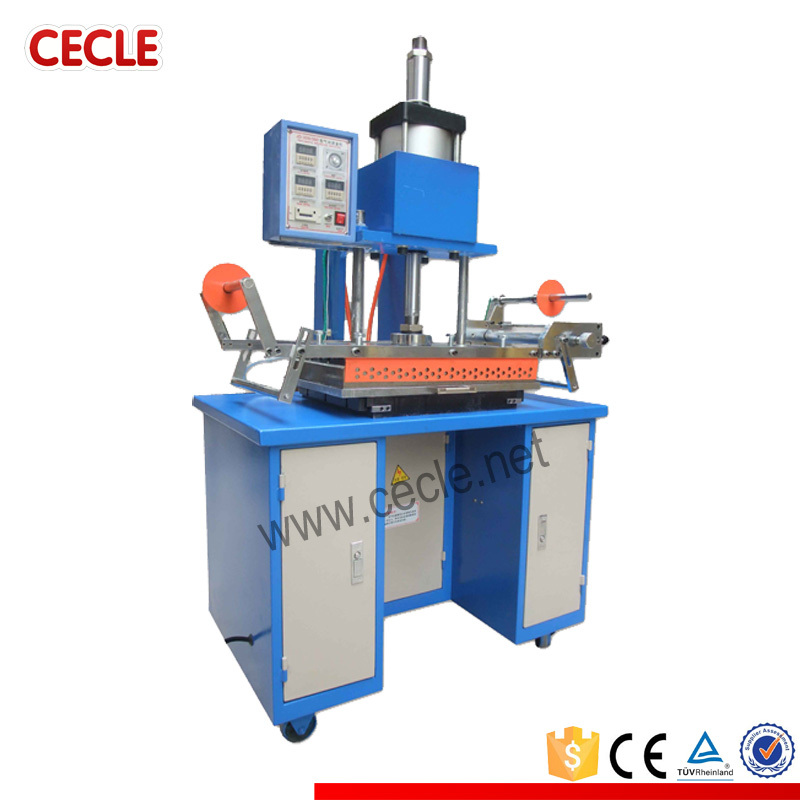 Multifunctional automatic long pipe hot stamping machine
