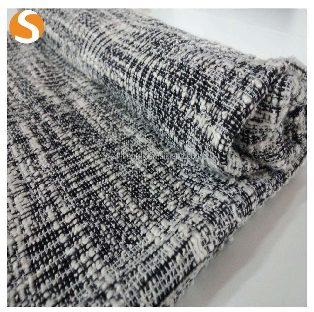 Top Grade polyester cotton jacquard fabric price per meter