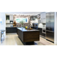 Custom Made Affordable Modern Rta Laminate Kitchen Cabinet