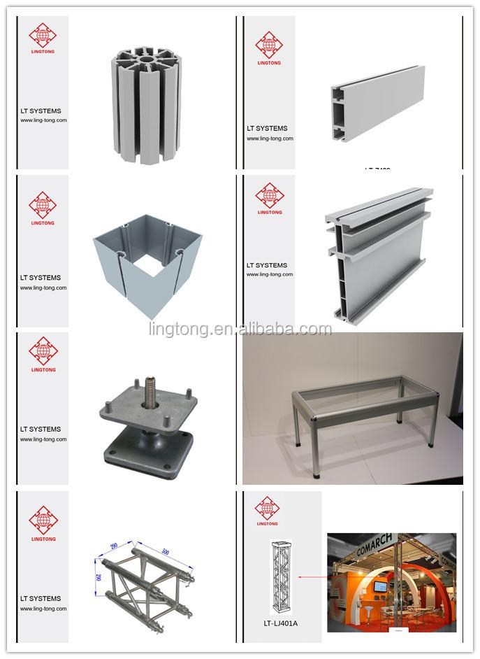 Marco De Aluminio Showroom Diseños Contador Para Stand De Exposición ...