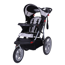 Good quality baby jogger 600D solid polyester travel system