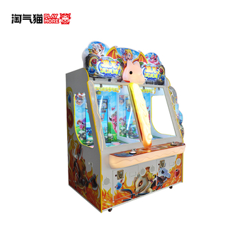 Hot Sale Mechanical And Screen Ticket Game Machine /Falling Ball Ticket Redemption Machine / Coin Game Machine Simply And Easy