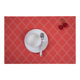 Custom Placemat OEM Low Cost Dining Room Hot Food Woven Fabric Vinyl PVC Table Mat