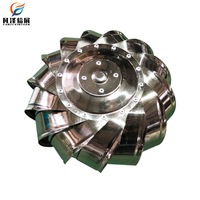 Customized Stainless Steel ventilation powerless fan for residential exhaust flue