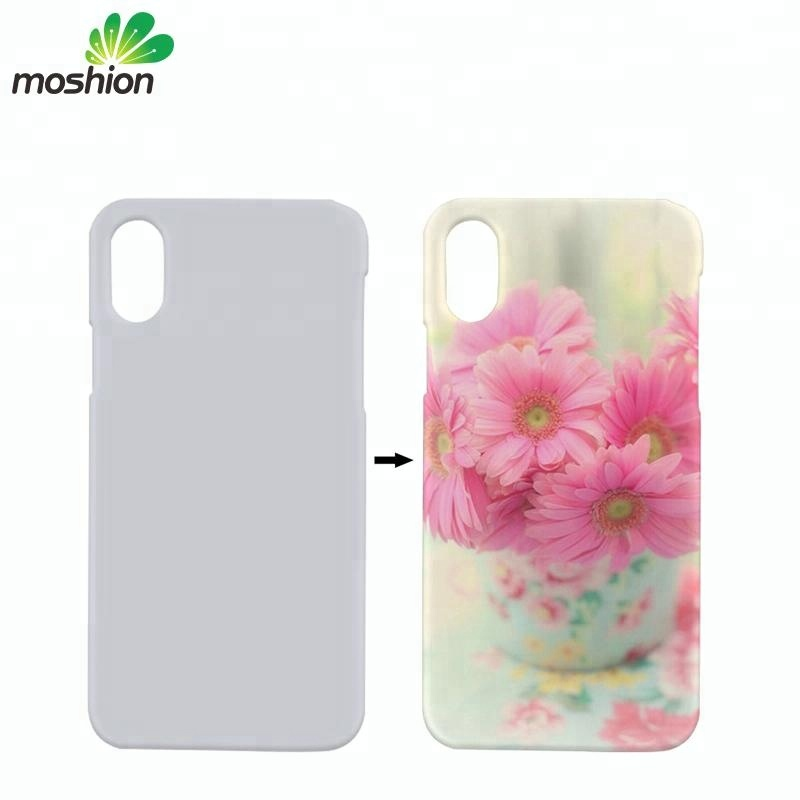 Wholesale Custom Heat Transfer Cover Sublimation Blank Phone Case For iPhone X
