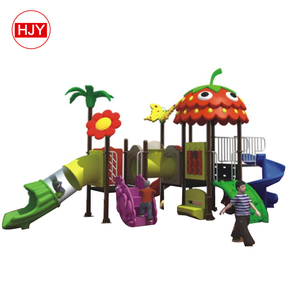2018 New mini plastic children playground/lovely small outdoor toys