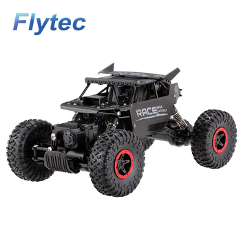 Hot Flytec RC Alloy Car 9118 2.4G 1 / 18 scale 4WD Alloy Body High speed Climbing Racing Car VS JJRC RC Car
