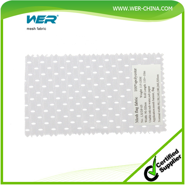 sign and graphic medias heavy duty nylon mesh fabric