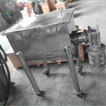 stainless steel powder high speed ribbon mixer