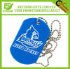 Logo Printed Plastic Rubber Dog Tag