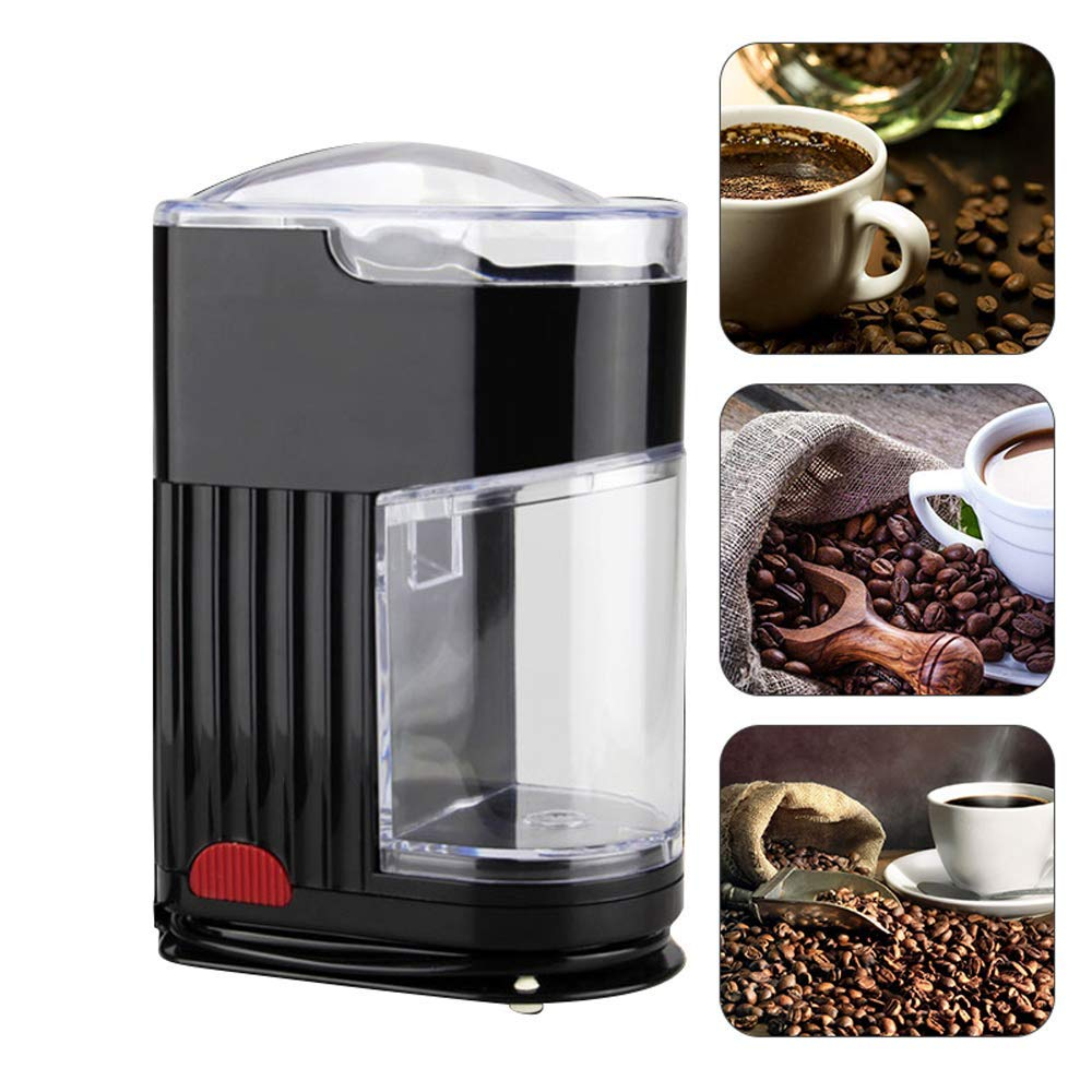 Funwill Coffee Grinder,Electric Portable Burr Mill Grinding Machine with Stainless Steel Blade for Kitchen,Dorm,Travel,Coffee Lovers