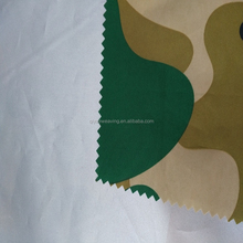 190T silver coated taffeta ,pu450mm,uv 50+ waterproof tent fabric by the yard military tent fabric