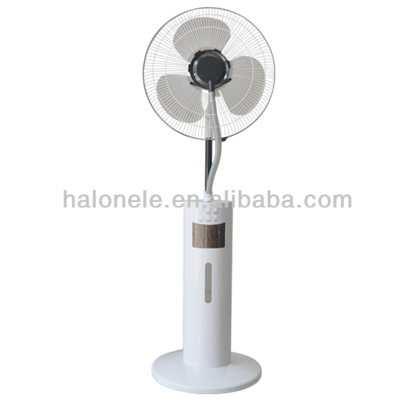 2015 New Item Mist cooling Ion fan with remote control