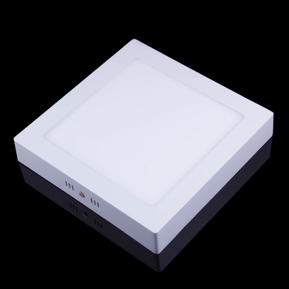 Free Shipping Surface Mounted Square Led Panel Light AC85