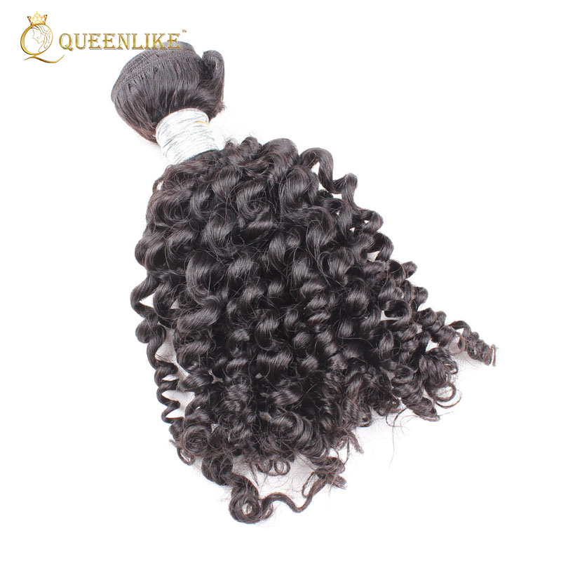 Brazilian Human Wholesale Cheap Afro Kinky Curly Factory Hair For Braiding, Natural color #1b