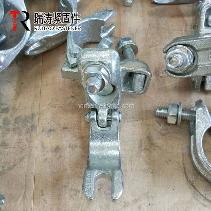 EN74 scaffolding tube metal clamp swivel coupler/swivel clamp