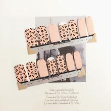 Pink Dot Lovely Nail Arts Sticker 14 pcs set Waterproof Nail Decal Art Sticker Gel Polish