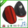 Xh-b87 Factory Price Bicycle Reflector In Red Color