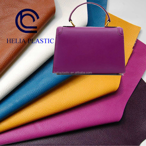 cosmetic bag material PVC Leather for Women Bag lining