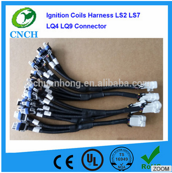gm ls ignition coils remote ignition coil wire connector car wiring harness  ls2 ls3 ls7 lq9