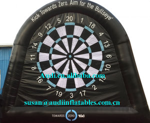 Giant Inflatable Target Dart Board ,inflatable football target,blow up foot darts