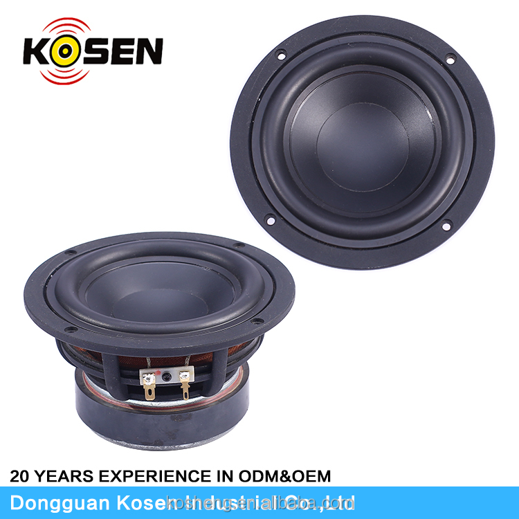 Excellet 525 Subwoofer PP Cone 80W Rated Power Used In Wood Cabinet Speaker