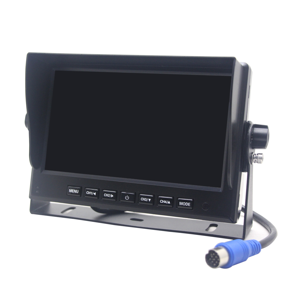 New AHD Monitor With Big Buttons And Multi-image Display To Choose For Universal Cars
