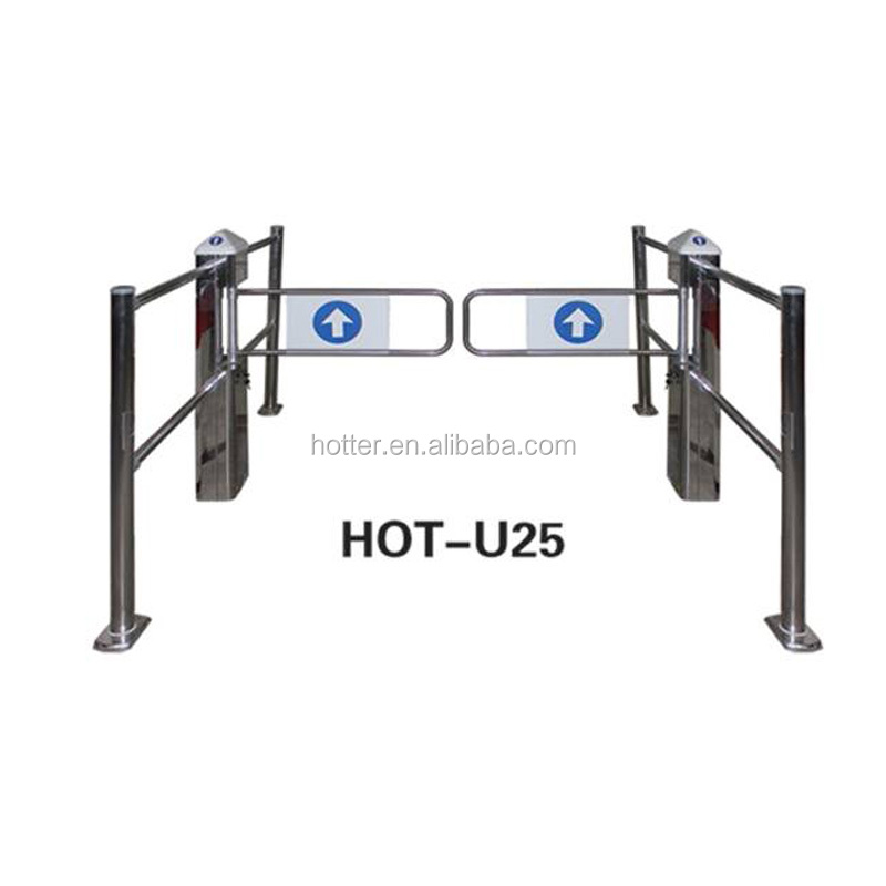Automatic eas system electric supermarket security entrance gate
