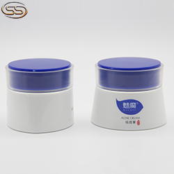 HDPE plastic bottle for shampoo
