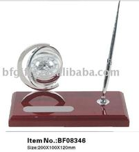 Crystal Clock&Pen stand,Gifts:BF08346