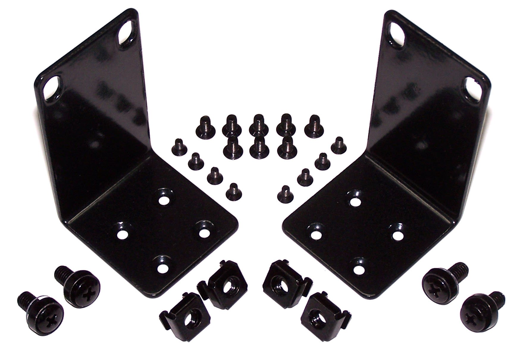 "magnaroute HD-17 Multi-Vendor Rack Mount Kit Compatible with Many 17.3/"" Wide and"