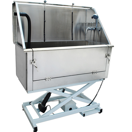 pet grooming electric lifting superior stainless steel dog grooming tub H-105E