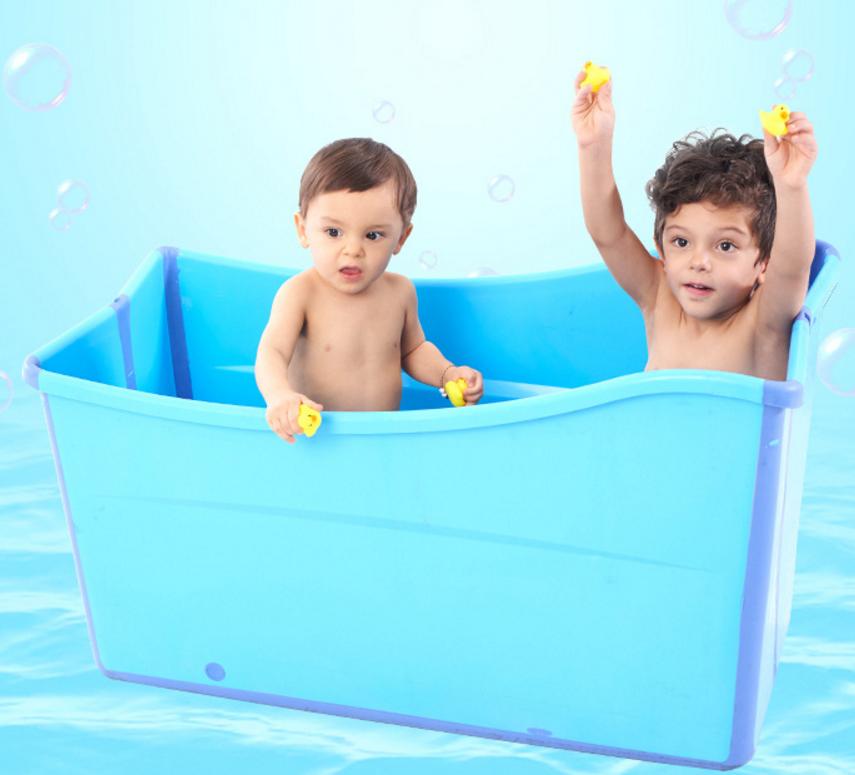 Hot Selling! Plastic Colorful Baby Bath Deep Bucket/baby Bathtub ...