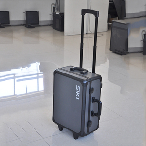 Factory outlet easy carrying aluminum tool trolley case with wheels or rolls