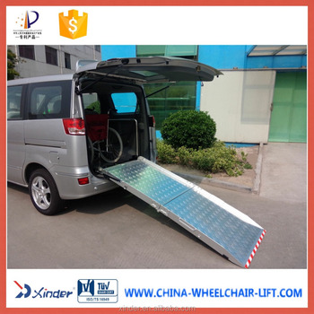 Bmwr 2 Wheelchair Ramp For Van And Minivan Loading 350kg