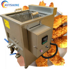 Fried Prawn / Chicken Wings Crispy Prawn Frying Machine Fryer