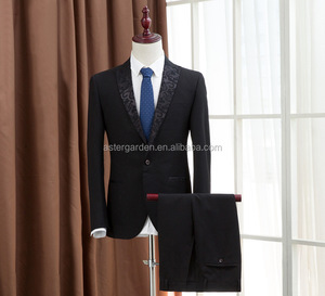 Custom Men's Leisure suit business formal suit Groom Suits & Tuxedo