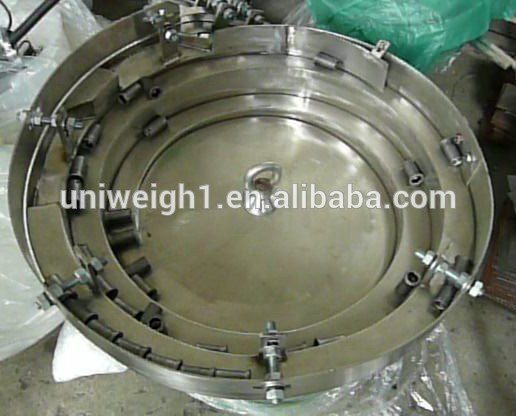 vibrating bowl feeder/ abs plastic pipe tube vibratory feeding bowl