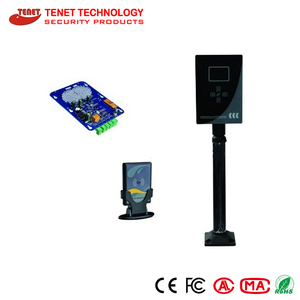 Long distance smart card reader for TCP smart parking system