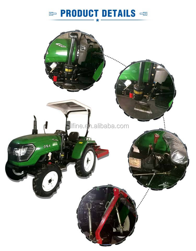 Factory directly sale reliable quality small tractor