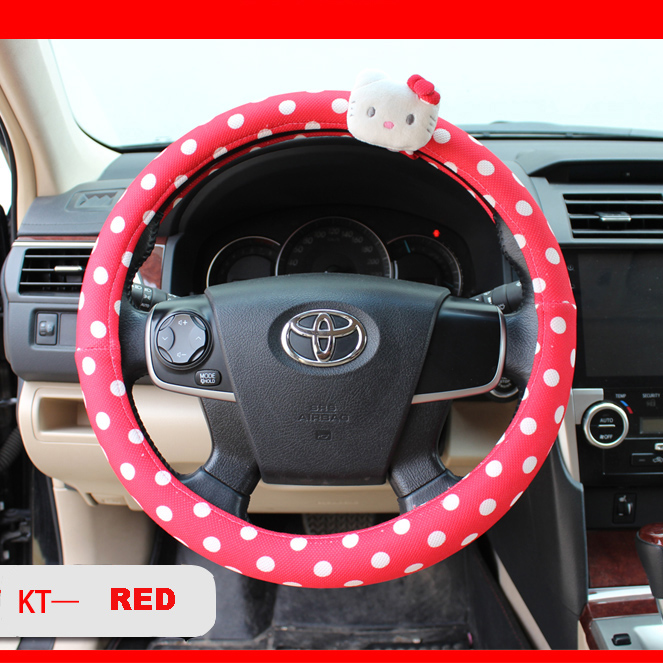 Popular red hello kitty car accessories buy cheap red - Hello kitty car interior accessories ...