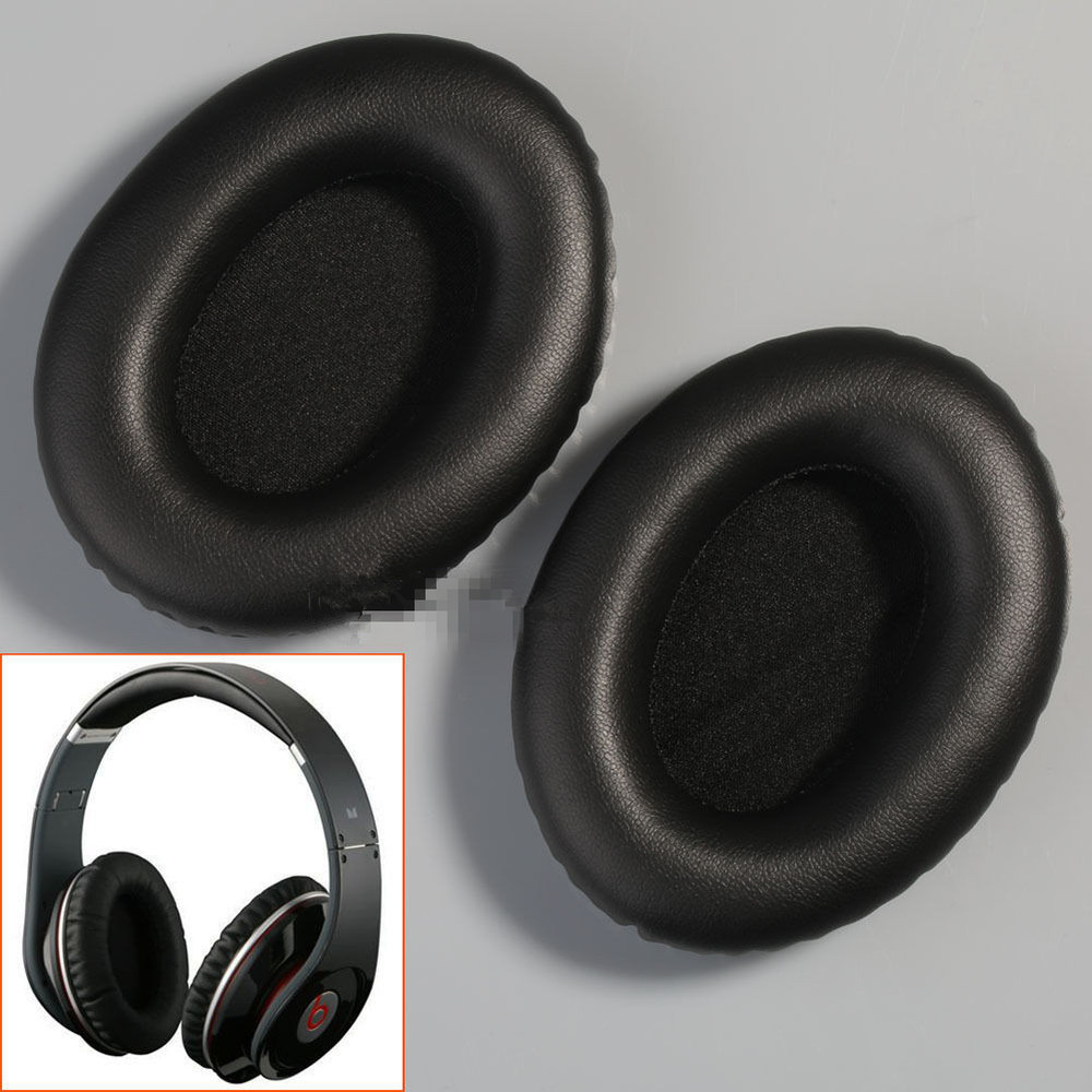 Black Replacement Earpads Ear Pads Cushions for Beats By ...